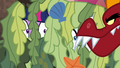 Garble sniffing near Twilight and Rarity S6E5.png