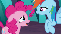 "Pinkie ""nothing about this is funny"" S9E2"