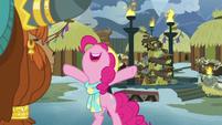 "Pinkie Pie ""yaks best at everything!"" MLPBGE"