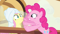 Pinkie Pie 'certainly wasn't an angry mob!' S4E14