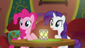 Pinkie and Rarity hear a clattering sound S6E12.png