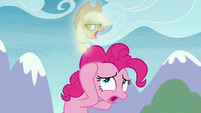 Pinkie haunted by vision of Applejack S8E3