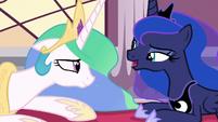 "Princess Luna ""did you talk to yourself?"" S7E10"