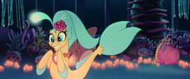 Princess Skystar grinning with excitement MLPTM
