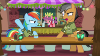 Quibble appalled by Rainbow's opinion S6E13
