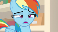 Rainbow Dash -that doesn't make any sense- S8E17