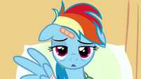 Rainbow Dash empty stare S02E16