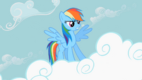 Rainbow Dash powerful pose S2E8