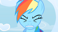 Rainbow Dash trying to cope with the pressure S1E16