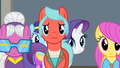 Rarity walking behind some ponies S4E08.png