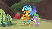 """Spike """"I'll help look out for boulders"""" S6E5"""