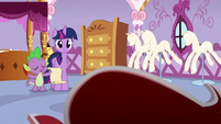 """Spike """"if it's too difficult to talk about"""" S6E22"""