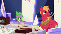 Spike feeling sorry for Discord S6E17