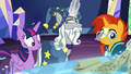 Star Swirl moving Twilight's scroll away S7E26.png