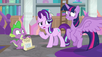 "Starlight ""what's so exciting about a toy crown?"" S9E4"