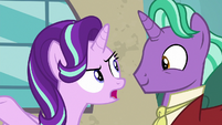 Starlight asks her father what's going on S8E8