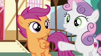"Sweetie Belle ""or my crochet to make the costumes"" S6E4"