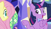 Twilight -teamed up the same ponies- S8E23