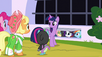 Twilight Sparkle rallying her friends S9E4