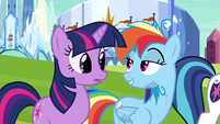 Twilight and Rainbow Dash -ain't no thing- S03E12