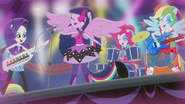 Twilight and friends rocking out EG2