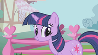 Twilight listening to Spike S1E6