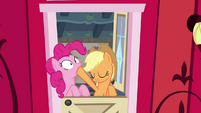 AJ and Pinkie -that was rhetorical- S4E09