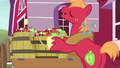 "Big Mac answering Sweetie Belle ""eeyup"" S7E8.png"