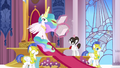 Celestia goes through some paperwork S3E01.png