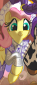 Comic issue 25 Fluttershy as Dale Evans