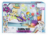 Equestria Girls Minis Rainbow Dash Sporty Beach Set packaging