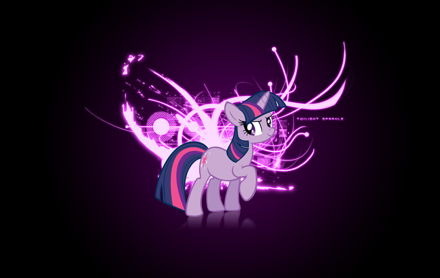 FANMADE Twilight Sparkle By Vexx Wallpaper
