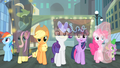Main cast looking around Manehattan S4E08.png
