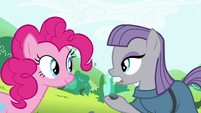 Maud 'He was hiding in my pocket' S4E18