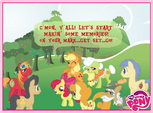 My Little Pony Apple family memories Facebook