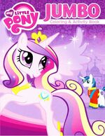 My Little Pony Princess Cadance Jumbo coloring book cover