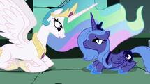 My little pony friendship is magic celestia and nightmare moon