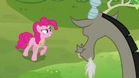 Pinkie 'make that bunny cute again!' S03E10