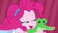 Pinkie Pie complimenting Lily Pad EGDS3.png