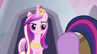 "Princess Cadance ""What are you doing?"" S2E25"