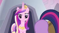 "Princess Cadance ""What are you doing?"" S2E25"