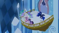 Princess Celestia, Cadance, Twilight and Luna S4E25