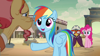 Rainbow -an awesome adventure pony hero- S7E18