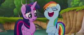 "Rainbow Dash ""not getting all the glory"" MLPTM"