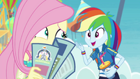 "Rainbow Dash ""pretty great, right?!"" EGROF"
