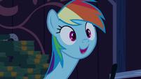 Rainbow Dash --totally!-- S6E15