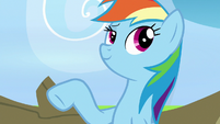 Rainbow Dash calls herself awesome again S7E7
