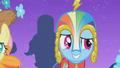 Rainbow Dash in her custom Gala Dress S1E14.png