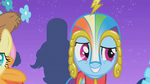 Rainbow Dash in her custom Gala Dress S1E14