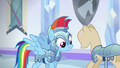 Rainbow Dash jousting outfit S03E01.png